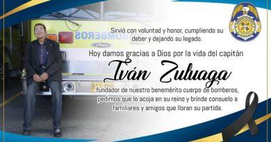 Murió Iván Zuluaga